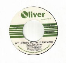 The Steinways - My heart's Not In It Anymore c/w You've Been leadin' Me On